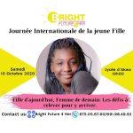 Journée Internationale de la Jeune Fille aux côtés de Bright Future 4 Her
