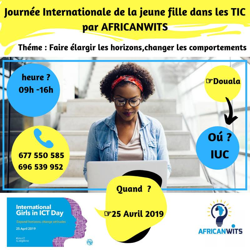 Girls in ICT by AfricanWITS 2019