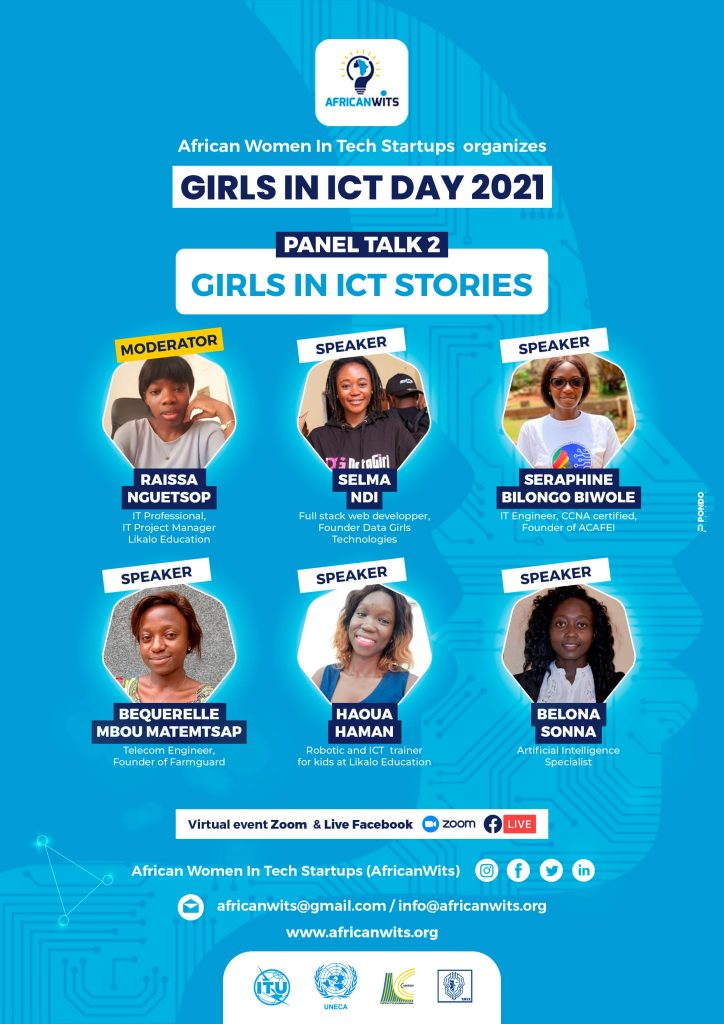 Girls in ICT Day 2021 - AfricanWITS